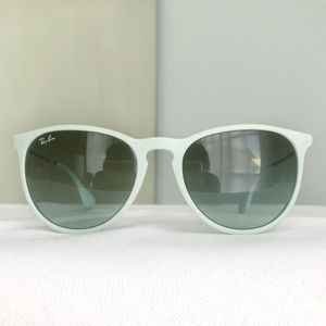 RAY-BAN Erika Mint Green Sunglasses RB 4171 Italy